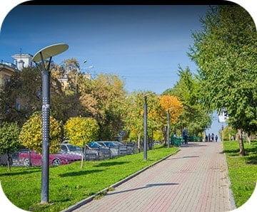Собственная аллея длиной 500 метров для прогулок и пробежек, Золотая Линия, Краснодар, официальный сайт, Новая Адыгея